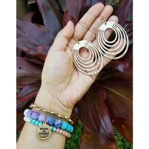 Believe in your self Bracelet set.